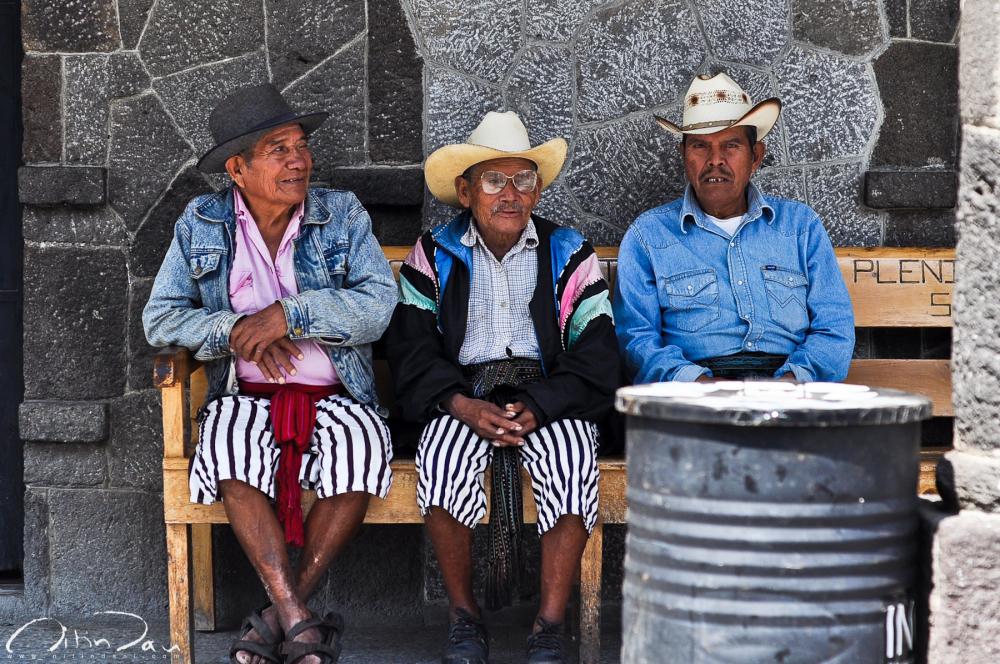Three Musketeers of Santiago Atitlan