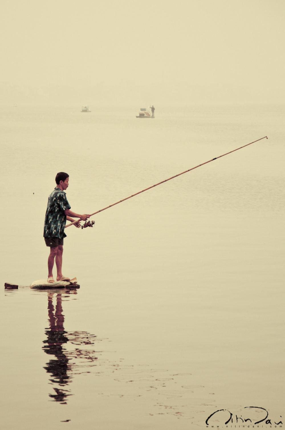 Fishing for danger