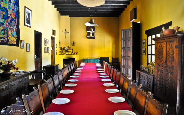 Supper at La Bolom