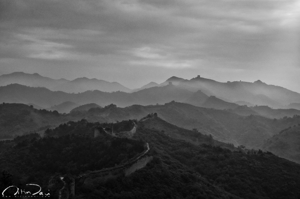 Dawn at The Great Wall 02