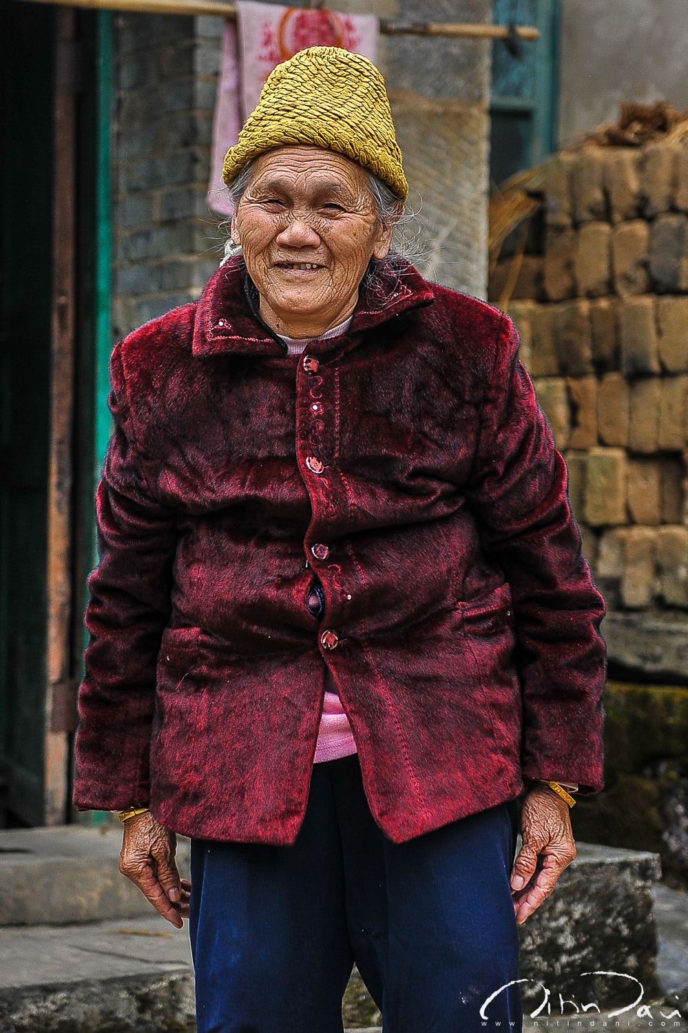 Grand old woman of Yangdi
