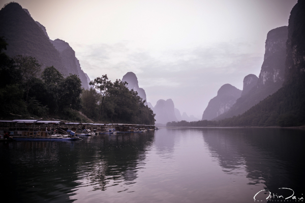 Dawn in Yangshuo and 5 Years in China