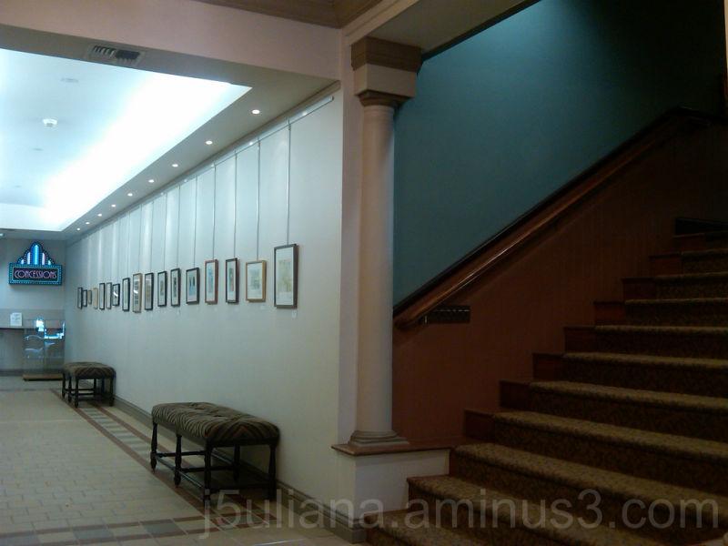 hall steps