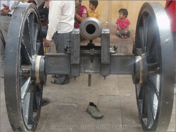 cannon @ Amber fort