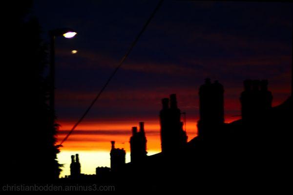 Sunset in Leeds