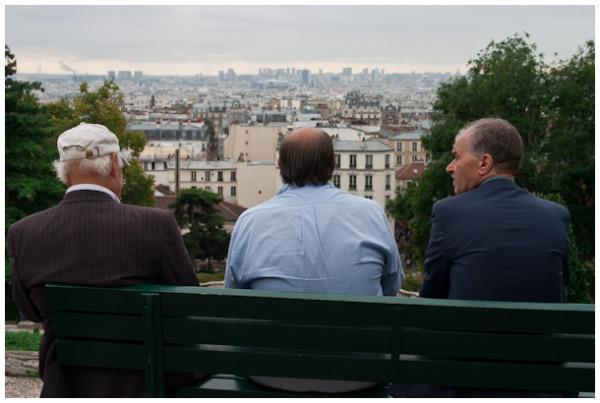 View over Paris, Sacre Coeur