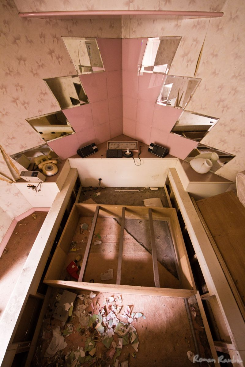 an abandoned love hotel
