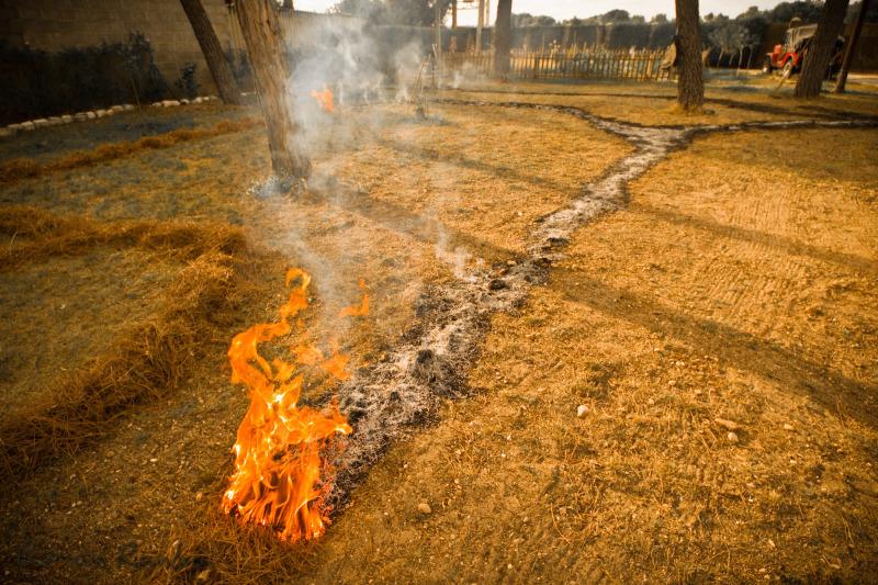 a fire path