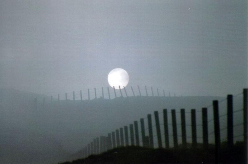 soleil nuage Ecosse