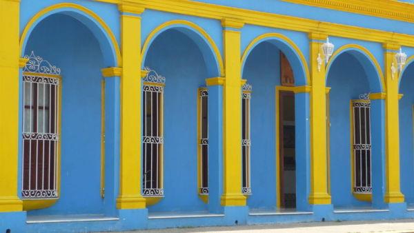 bleu Tlacopayan Mexique