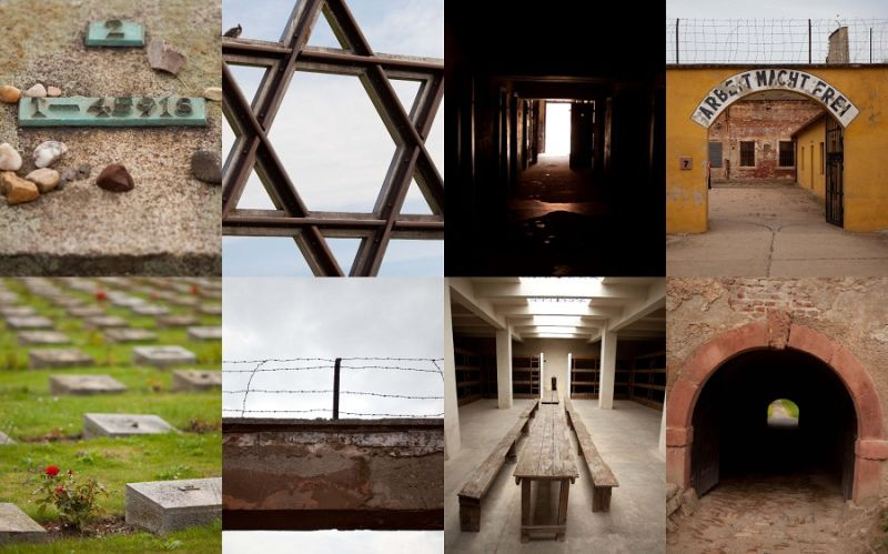 Terezin concentration camp in  Czech Republic ....