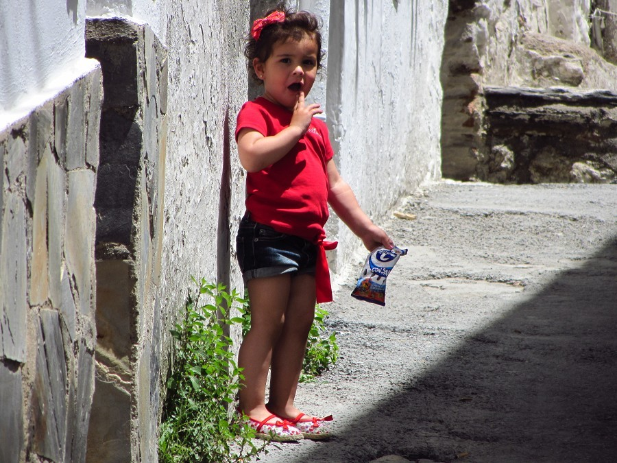 Spanish girl...