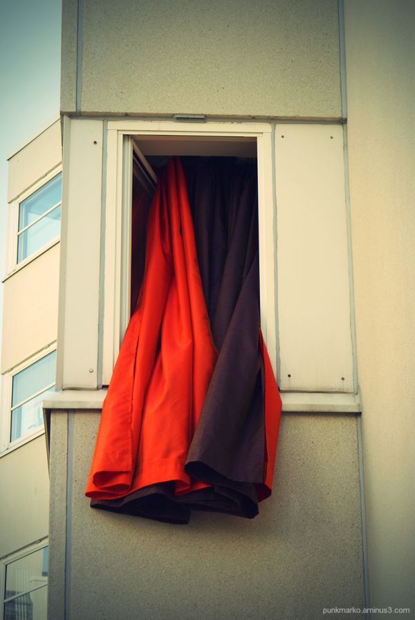 Curtains in Helsinki