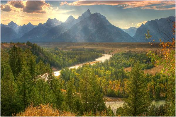 Teton Range from the Snake River Overlook