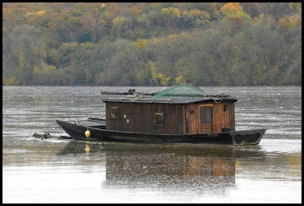 Loire en crue