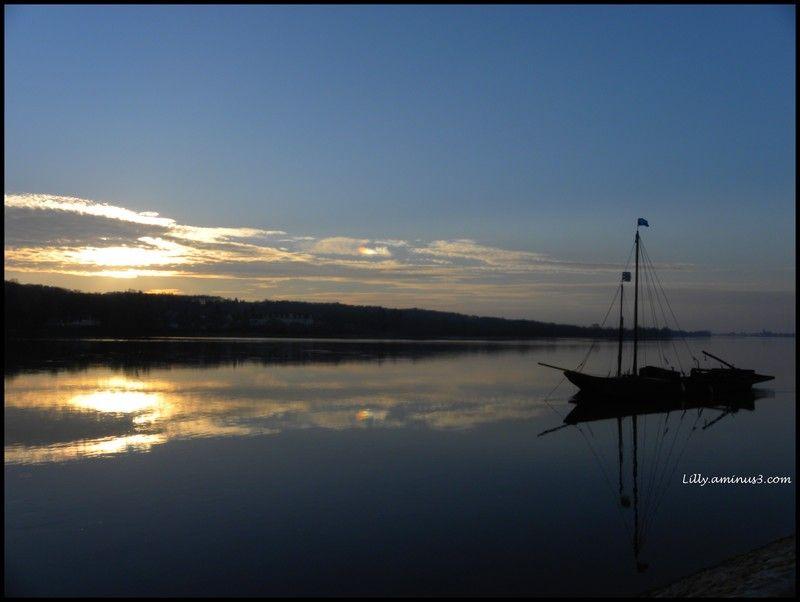 Un soir sur la Loire...
