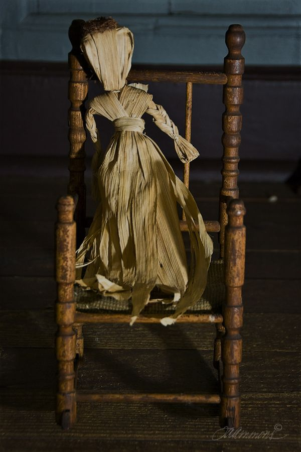 cornhusk doll, quote by Richard Bach