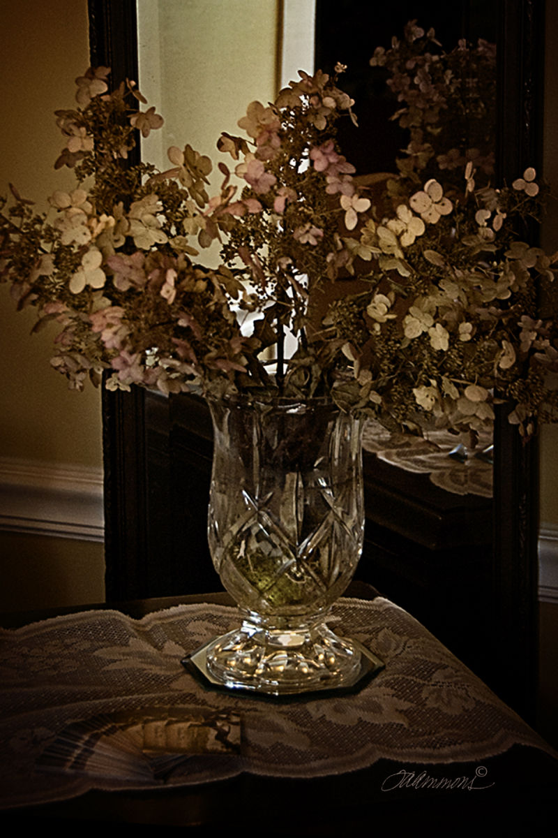flowers in vase, quote by Oliver Wendell Holmes