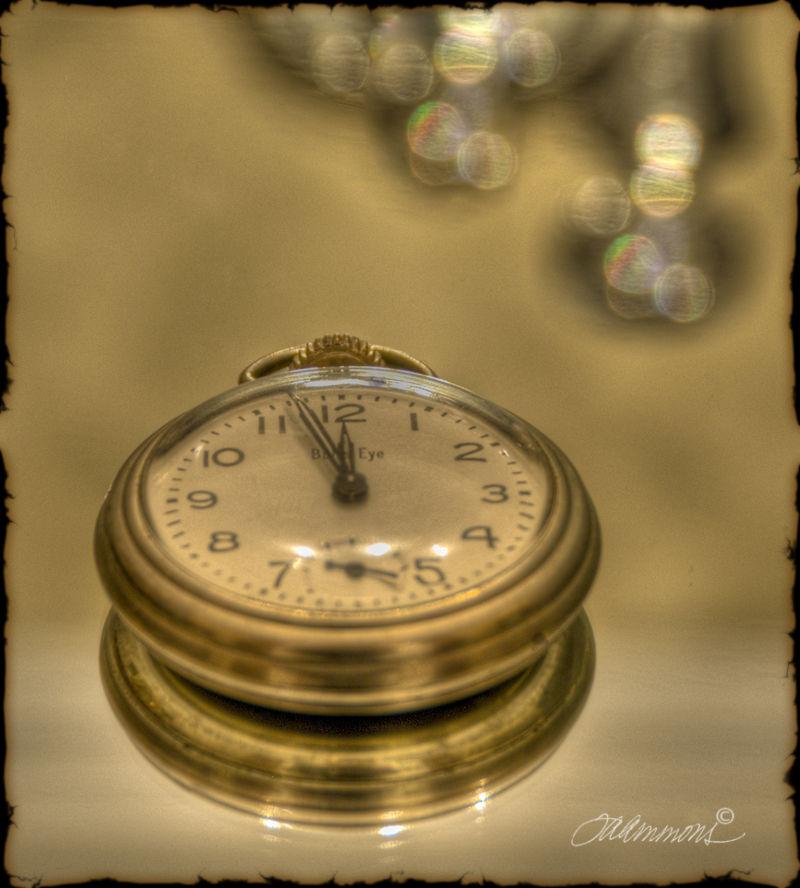 New Year's Eve, Pocketwatch, Midnight