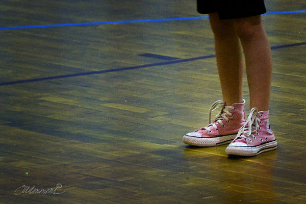 pink converse tennis shoes, quote Margaret Young