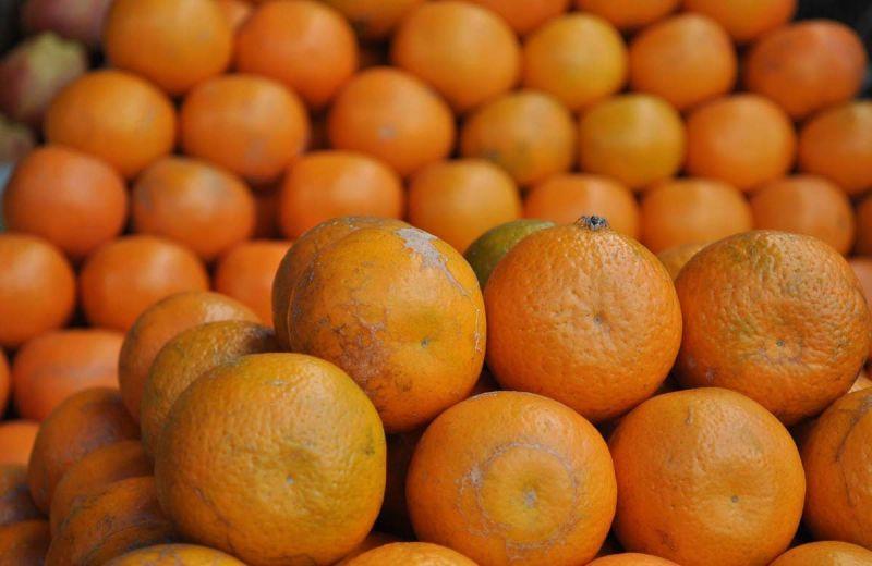 Oranges in Kodai road