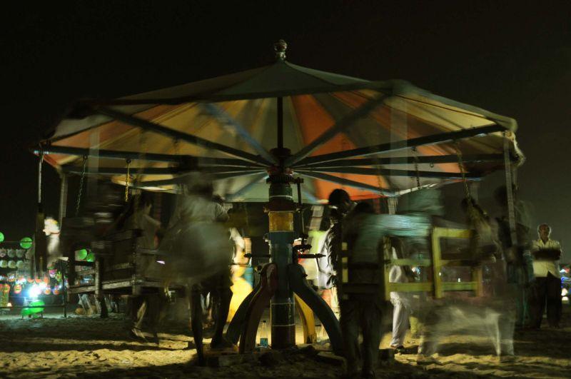 merry-go-round in elliots