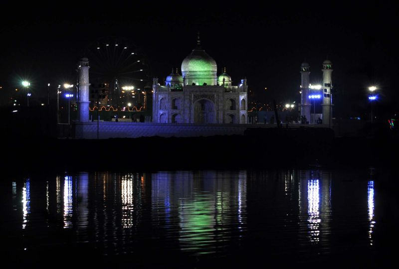 The Taj , by the Cooum