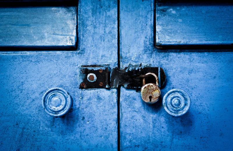 Locked in Blues....
