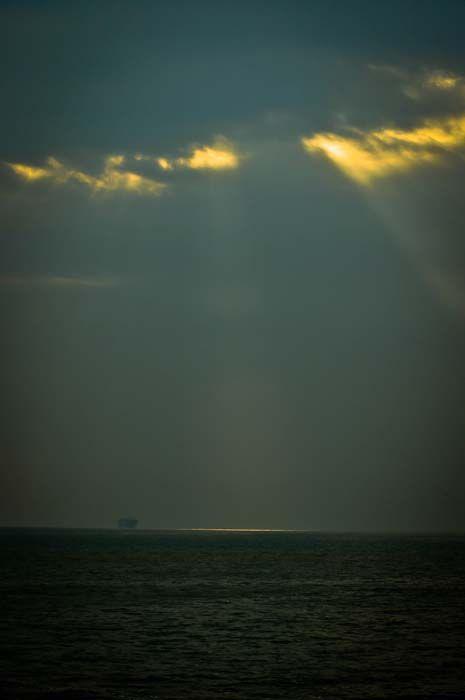 Basking in Golden rays