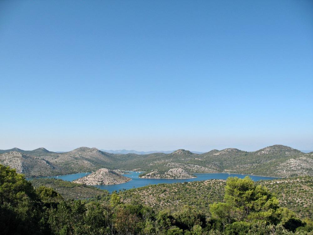 Dugi otok, Croatia during the summer