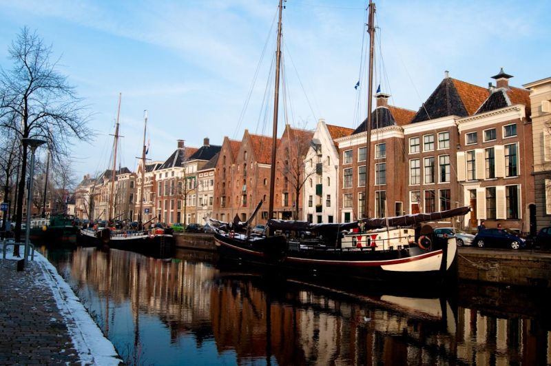 Cannal in Groningen, the Netherlands