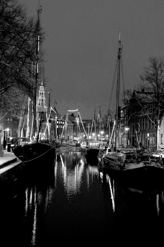 a Canal in Groningen