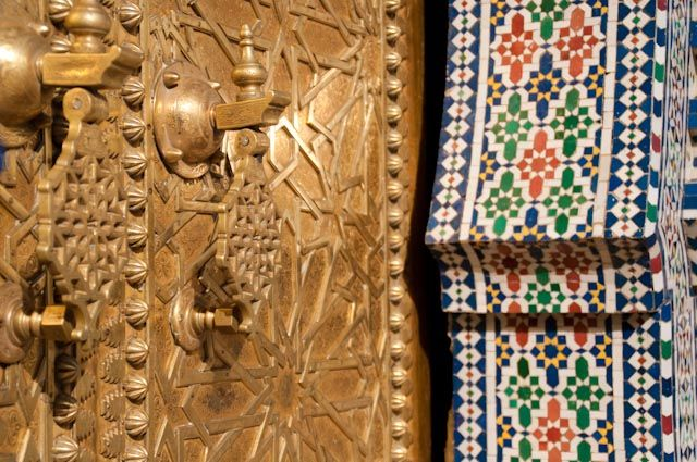Palace Door, Fes, Morocco