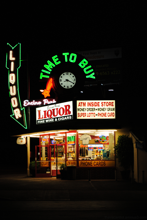 Time To Buy Liquor