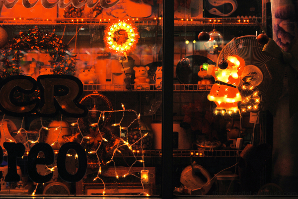 Echo Park Window Christmas I