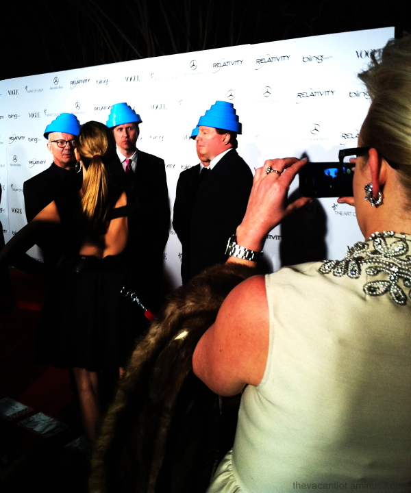 Red Carpet Blue Hats