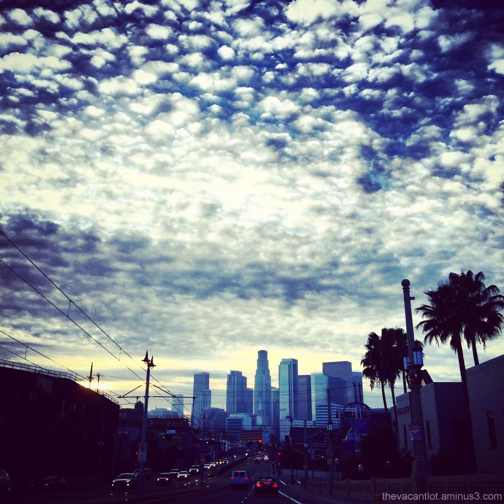 Evening in LA.