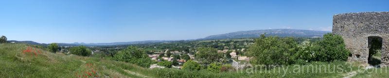 panorama (alleins coté chateau en ruine)