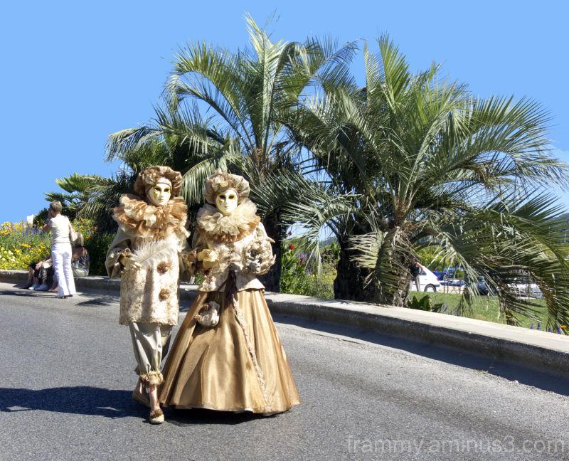 masque vénitien de Martigues 2010