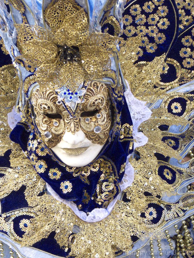 Masques vénitien de martigues