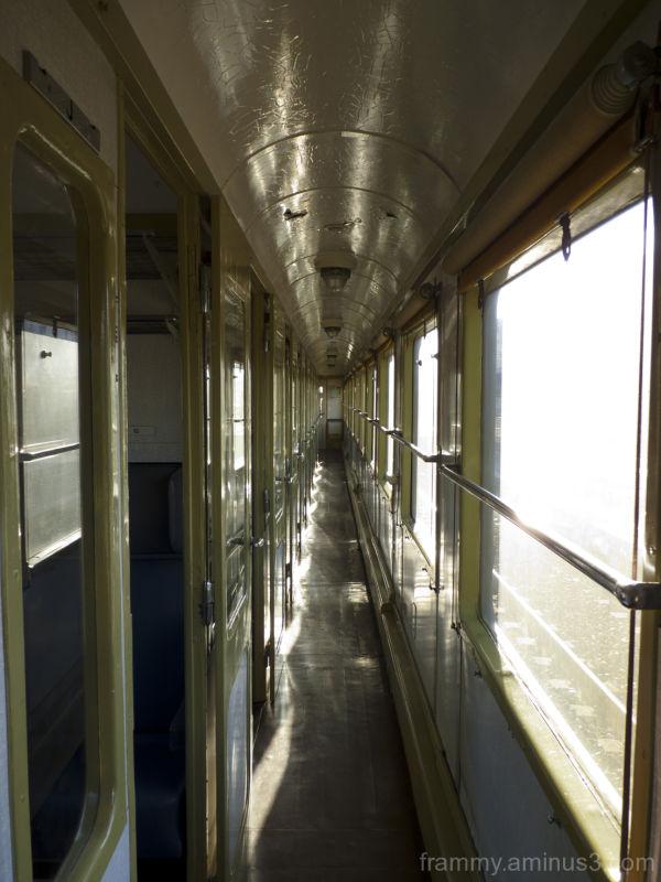 couloir du train