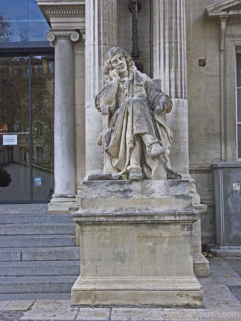 sculpture à Avignon