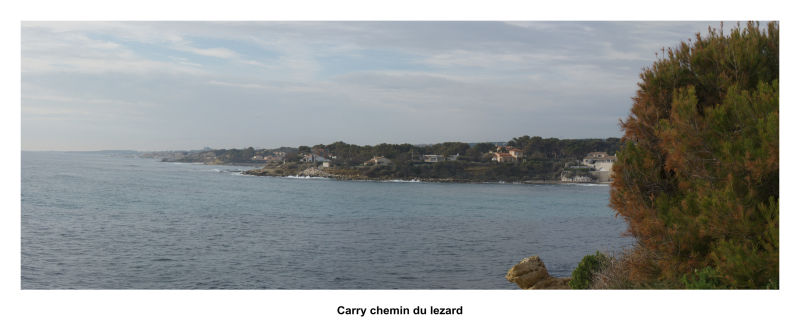 panorama ( Chemin du Lezard à Carry)