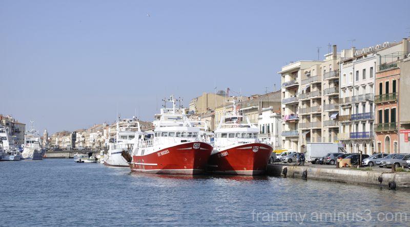 bateaux à Sète 1