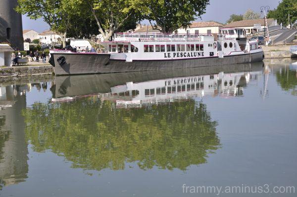 reflet balade sur l eau
