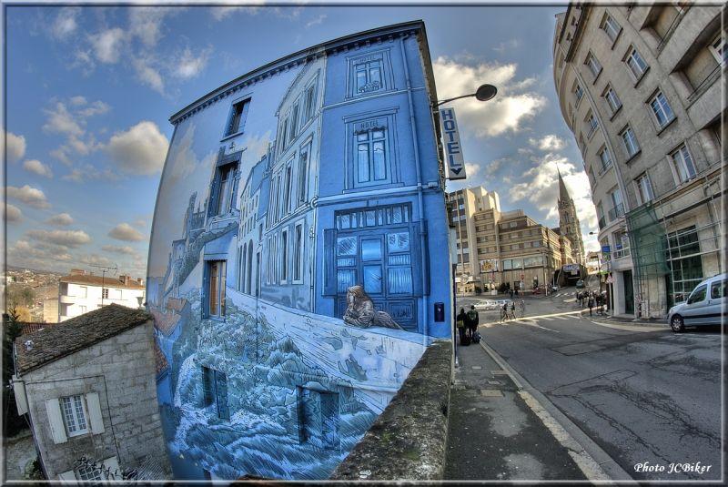 Peinture sur rue