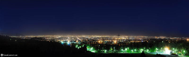 isfahan panorama