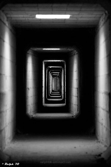 Tunnel, Nikon, B/W, Z/W, D90