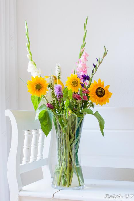 Bloemen uit eigen tuin