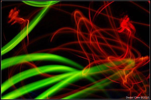 Colorful neon...